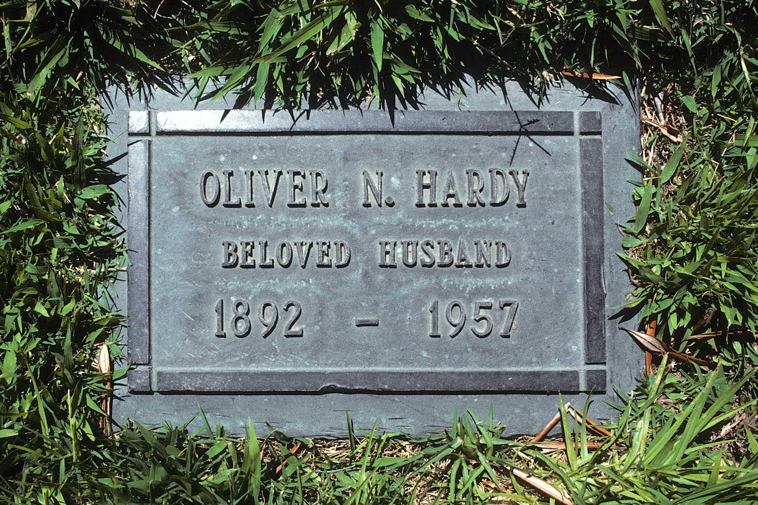 Oliver Hardy's Grave